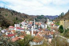 Srebrenica - Bósnia e Herzegovina Fotografia de Stock Royalty Free