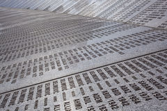 Srebrenica - cemitério do memorial de Potocari Fotos de Stock Royalty Free