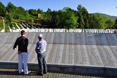 Srebrenica Genocide Memorial Stock Photos