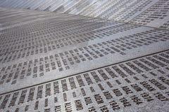 Srebrenica - Potocari Denkmal-Kirchhof Lizenzfreie Stockfotos