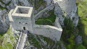 Srebrenik堡垒 库存照片