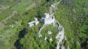 Srebrenik堡垒 免版税库存图片