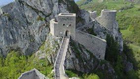 Srebrenik堡垒 图库摄影