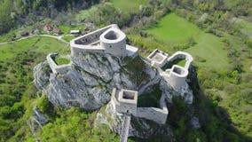 Srebrenik堡垒 免版税图库摄影