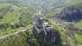 Srebrenik-Festung stockfoto