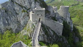 Srebrenik-Festung stockfotografie