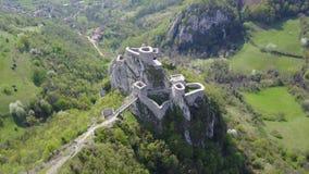 Srebrenik-Festung lizenzfreie stockbilder