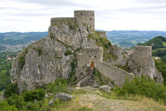 Srebrenik fortress Royalty Free Stock Photo