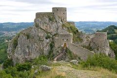 Srebrenik fortress royalty free stock photo