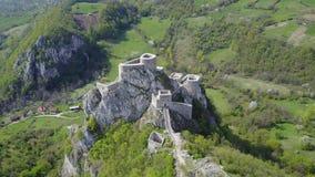 Srebrenik fortress Stock Image