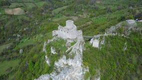 Srebrenik fortress Royalty Free Stock Image