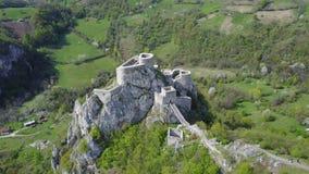 Srebrenik fortress Royalty Free Stock Images