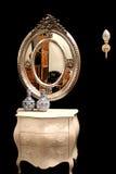srebrne lustra Zdjęcie Stock