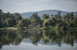 Srebrno jezero. Silver lake, a lake in Serbia Royalty Free Stock Photo