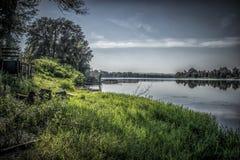 Srebrno jezero. Silver lake, a lake in Serbia Stock Photos