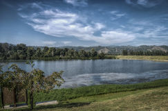 Srebrno jezero. A view of Srebrno jezero, a lake in Serbia Stock Images