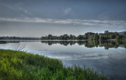 Srebrno jezero. A view of Srebrno jezero, a lake in Serbia Royalty Free Stock Image