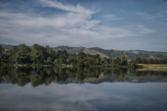 Srebrno jezero. A view of Srebrno jezero, a lake in Serbia Royalty Free Stock Photos