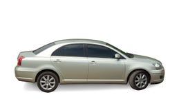srebrny samochód Zdjęcia Stock