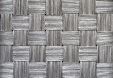 srebrny tła wikliny Zdjęcia Stock
