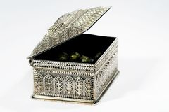 srebro biżuterii Zdjęcia Royalty Free