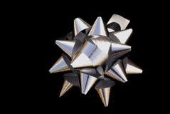 srebro bow Zdjęcie Stock