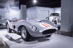 Srebro 1957 Ferrari i rewolucjonistka 625/250 Testa Rossa Obraz Stock
