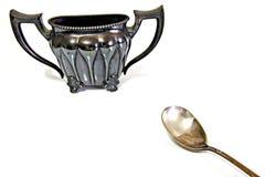 srebro oznaczane zdjęcia stock