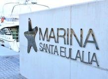 Srebro pisze list Marina obraz royalty free
