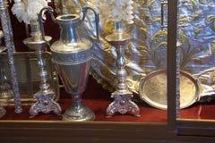 Srebro przedmioty religijny zamiar 2 Obrazy Royalty Free