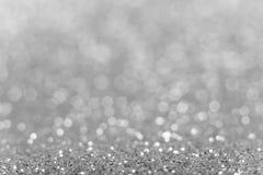 srebro tła abstrakcyjne Obraz Royalty Free