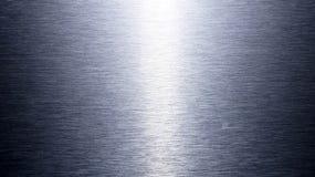 Srebro tekstury oczyszczony aluminiowy tło Zdjęcie Royalty Free