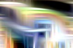 Srebrzysty błękitny żółty kolorowy rzadkopłynny tło, kolory, cieni abstrakcjonistyczne grafika tło abstrakcjonistyczna tekstura zdjęcie royalty free