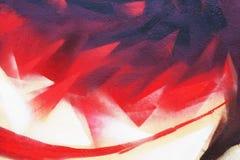 SRed p?omienia abstrakcjonistyczna uliczna sztuka T?o wizerunek czerep barwiony graffiti obraz w czerwonych brzmieniach fotografia royalty free