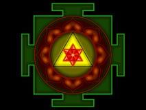 Sree Ganesha Yantra Lizenzfreies Stockbild