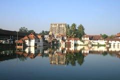 Sree padmanabha swamy寺庙 免版税库存图片