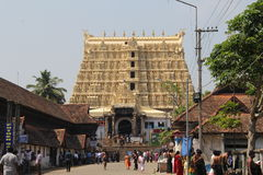 Sree Padmanabhaswamy Temple Royalty Free Stock Images