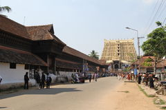 Sree Padmanabhaswamy Temple Royalty Free Stock Image
