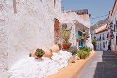 Sreet em Benalmadena (Espanha) imagem de stock royalty free