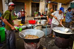 Sreet food of Kampot, Cambodia Stock Images