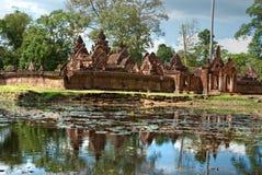 srei Камбоджи angkor banteay стоковые фото