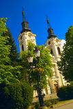 Sremski Karlovci. Image of The Orthodox Cathedral of St. Nicholas in Sremski Karlovci, Vojvodina, Serbia Stock Photo