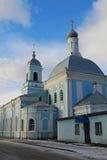 Sretenskaya kyrka i Murom 2013,4000 fyrkantiga meter av olika färger Arkivfoton