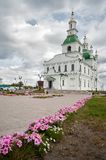 Sretensky大教堂在Yalutorovsk 俄国 库存照片