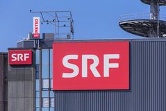 SRF Buildings Royalty Free Stock Photography