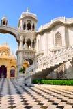Sri克里希纳Balaram寺庙,沃林达文,印度 免版税库存照片
