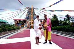 Sri西瓦Subramaniya印度寺庙Nadi精神领袖  库存照片