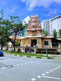 Sri Arulmigu Murugan tempel Royaltyfri Fotografi
