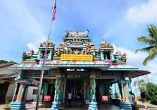 Sri Aruloli Thirumurugan, hinduisk tempel för Penang kulle, Penang Malaysia Arkivfoton