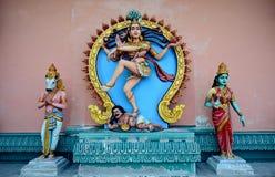 Sri Aruloli Thirumurugan, hinduisk tempel för Penang kulle, Penang Malaysia Arkivbilder